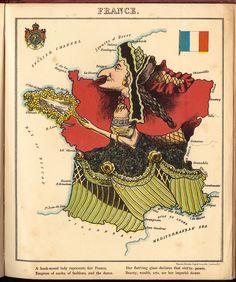 Россия в образе медведя, Франция в образе стареющей дамы, Италия в образе бунтаря — и другие географические предрассудки