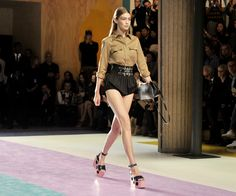 Read InStyle Fashion News Director Eric Wilson's review of the Louis Vuitton, Kenzo, and Miu Miu spring 2017 shows at Paris Fashion Week.