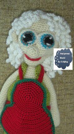 Amigurumi Pattern Crochet PDF- super granny