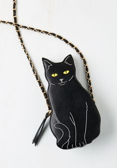 Quirky Accessories - Cat to the Chase Bag