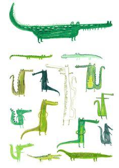 Erica Salcedo - crocodiles