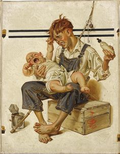 J. C. Leyendecker cover illustration for the Saturday Evening Post