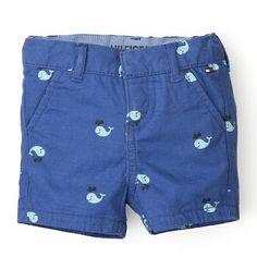 Tommy Hilfiger Fish Shorts - medieval blue-pt (Blue) - Tommy Hilfiger Boys - main image