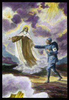 Sr Thérèse encourage un séminariste-soldat à secourir et consoler plusieurs mourants - 2