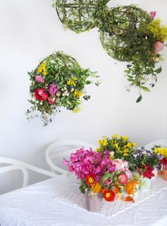 Blooming gorgeous table setting. Photography and styling by Lisa Tilse for We Are Scout.
