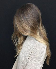 Blonde Hair With Highlights, Balayage Hair Blonde, Brown Blonde Hair, Brunette Hair, Honey Balayage, Caramel Highlights, Brunette Color, Hair Color And Cut, Ombre Hair Color