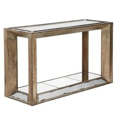 Pascual Console Table | Mirrored Furniture | Furniture | Z Gallerie - Mirrored, for the living room