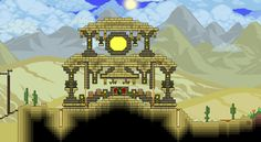 I made a Desert Temple!, What do you think? - Imgur