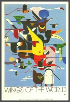 Interesting! Wings of the World by   Charley Harper 1996