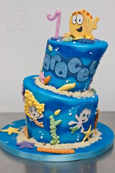 Bubble Guppies Birthday Cake @Gillian Dasilva for Caiden??