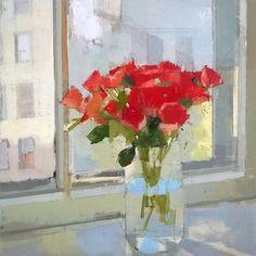 Lisa Breslow, Morning Flowers,  2015