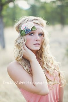 cute head bands are lovely to wear in a few shots! Really great for head shots.