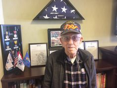 "This week in ""Meet a Veteran,"" we speak with Roger Bergeron, 84, of Colchester, who served in the U.S. Army as a courier, carrying messages to and from the front lines during the Korean War. Read more: http://www.norwichbulletin.com/news/20170317/meet-veteran-colchester-vet-served-in-korean-war #CT #ColchesterCT #Connecticut #Veteran #Vet #KoreanWar #USArmy"