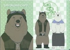 #ShirokumaCafe #Grizzly