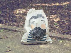 Bearded backpack by Depeapa
