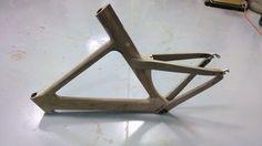 Walnut Wood (triathlon) Bicycle Frame - All