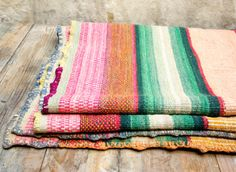 Vintage Blanket or Rug - really gorgeous patterning on this one! Great inspiration for knitting!