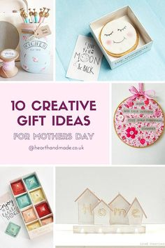 10 Creative Gift Ideas For Mother's Day