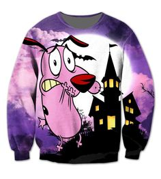 Courage the Cowardly Dog Crewneck