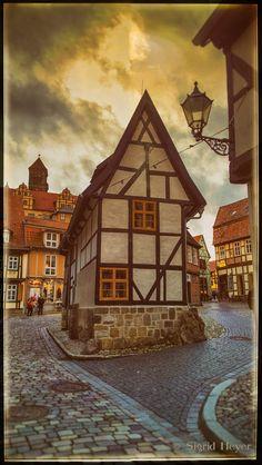 Der Finkenherd 1 im November – – hier: Quedlinburg.