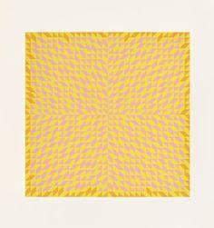 Do I, 1973 screenprint 25 1/2 × 25 1/2 ins. (65 × 65 cm) 1994.11.26 Josef and Anni Albers Foundation