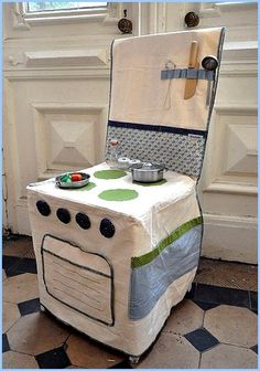 Chaise cuisinière