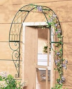 Bon Over Door/window Trellis
