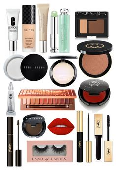 """Makeup for Saturday night"" by april-baby123 ❤ liked on Polyvore featuring beauty, Clinique, Gucci, Urban Decay, Christian Dior, Yves Saint Laurent, Bobbi Brown Cosmetics, NARS Cosmetics, MAC Cosmetics and Rituel de Fille"