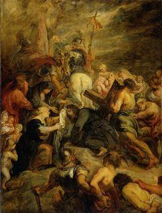 Kruisdraging, Peter Paul Rubens, , 1634 - 1637
