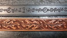 hand carved leather belts - Google Search