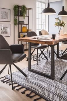 Dining Room Small, Home Office Setup, White Living Room Decor, Dining Room Design, New Living Room, Dining Table, House Interior, Dining Room Decor, Lamps Living Room