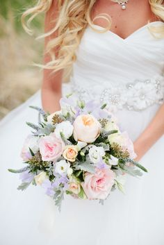 Pastel Bridal Bouquet | Full Bloom Photography https://www.theknot.com/marketplace/full-bloom-photography-lakewood-oh-581844 | Cornerstone Church of God https://www.theknot.com/marketplace/cornerstone-church-of-god-lebanon-oh-595246 | Morning Sun Florist https://www.theknot.com/marketplace/morning-sun-florist-centerville-oh-595247