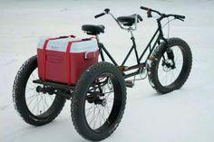 Tandem Fat Bike    via Steven Wilke #fatbike #bicycle