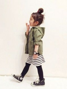Sweet toddler threads with too cute converse to boot