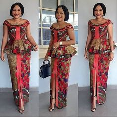 101 Latest Stylish and Creative Ankara skirt and blouse styles for wedding Guest Vol <br> Best African Dresses, Latest African Fashion Dresses, African Print Dresses, African Attire, Ankara Fashion, Ankara Rock, Ankara Skirt, African Print Dress Designs, Traditional African Clothing