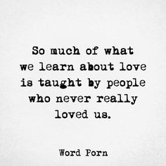 True. But the ultimate form of love, which is forgiving and loving still, is the lesson i have learnt from Naughty