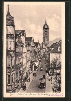 Kirchen, Big Ben, Vintage Photos, Germany, History, City, Building, Travel, Weimar