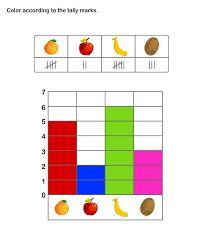 Kindergarten Bar Graph Worksheet Printable  Stuff For The Kids