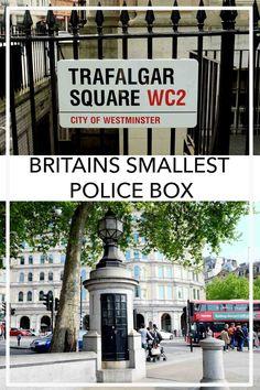 Britains Smallest Police Station Trafalgar Square PIN
