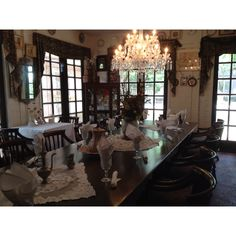 Tea room at Cauley Square in Miami. Cauley Square Historic Railroad Village is a glimpse of Old South Florida. This cozy Village also has a  Chalet Restaurant.