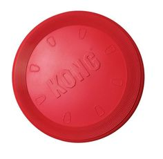 KONG Flyer Dog Toy, Large, Red - http://www.thepuppy.org/kong-flyer-dog-toy-large-red/