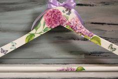 Wedding Hanger, Bridal Hanger, Floral Wedding Hanger, Summer Wedding, Bridesmaid Hanger, Personalized Hanger, Shower Party, Mother's Day