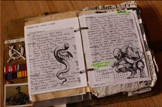 Love this! Someone made a replica of the journal used in the tv series Supernatural. So awesome! Original post by Magoro on Deviantart. Please don't remove the original source.