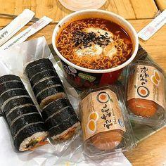 Think Food, I Love Food, Good Food, Yummy Food, Healthy Food, Korean Food Recipes, Drink Recipes, Comida Picnic, Eat This