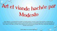 Diaporamas gratuits chez kamdou: PPS Art et viande hachée @ MODESTO