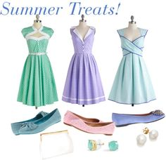 Pastel Dresses for a Cool Summer! Check out these yummy styles. #fashion #dresses