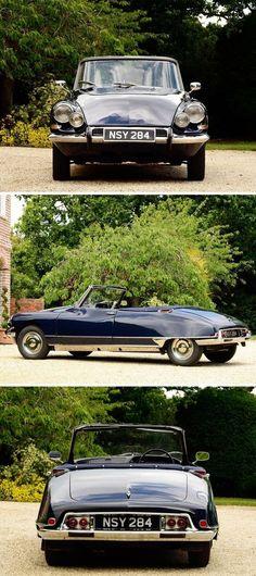 1963 Citron Convertible by Henri Chapron Citroen Ds, Psa Peugeot Citroen, American Graffiti, Classic Sports Cars, Classic Cars, Convertible, Automobile, Cabriolet, Amazing Cars