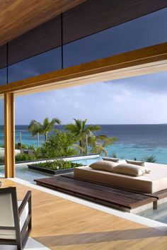vacation perfection... lounger overlooking the oceanfront