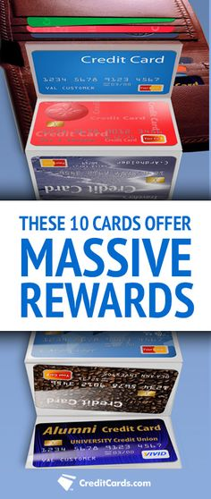 If you feel like your credit card isn't rewarding you like it should be then you're probably right. With rewards cards now offering deals like 40,000 point bonuses, up to 10% cash back or $625 worth of travel, it's probably time to reconsider your options. See the top rewards cards at CreditCards.com and start earning today.