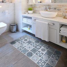 Waterproof floor sticker tiles